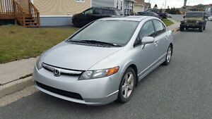 Honda Civic Sedan 2008 in good condition.