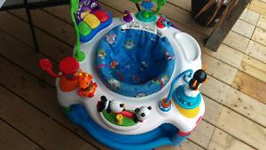 Baby Einstein excersaucer baby saucer baby play center