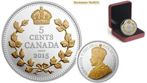 Silver Legacy of the Canadian Nickel Crossed Maple Boughs Coin