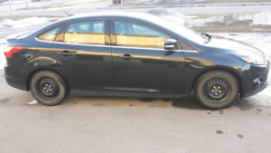 FULLY LOADED!!! ONLY 55400km!!! 2014 FORD FOCUS TITANIUM 2.0L