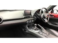 2016 Mazda MX-5 2.0 Sport Nav 2dr Petrol red Manual