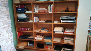 In Peachland - Unique Solid Oak Bookcase/Shelving