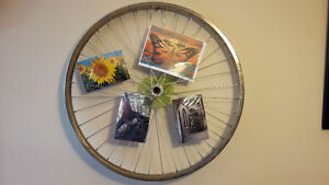 Bicycle Rim Picture Frame - $25.00 Kingston Kingston Area image 1