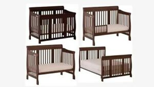 5 items bundles - Convertible Crib/ Mattress/ playpen & More