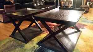 Matching Espresso Coffee Tables