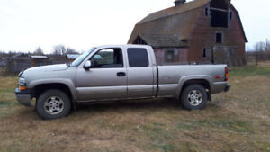 2001 Chevrolet Silverado 1500 for sale or trade