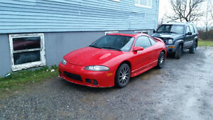 1999 Mitsubishi Eclipse gs Coupe (2 door)