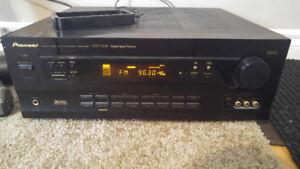 5.1/ Stereo Pioneer heavy duty VSX-498 receiver+Pioneer remote!