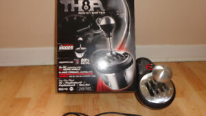 Thrustmaster T3PA Pedals + Th8A shifter and Omega GT wheel Stand