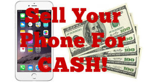 Same day CASH for used smartphones