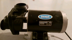 Jacuzzi 1.5 hp motor and pump