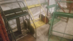 Tank carts - single and double $20-$50