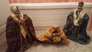 3 LARGE WISE MEN from Nativity (reg price $90+tx)