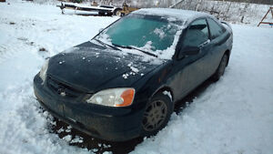 2001 Honda civic sell whole parts car