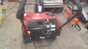 Snow blower fresh tune and service