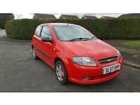 07 plate Chevrolet kalos with mot only 61k miles