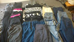 20 piece lot women's lrg xl bottoms