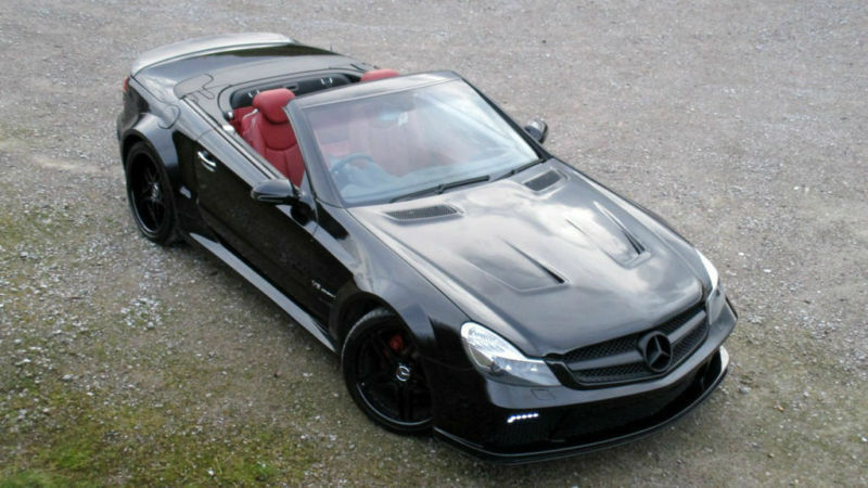 Mercedes-Benz SL350 3.7 AUTO SL65 AMG BLACK SERIES REPLICA PX SWAP ...