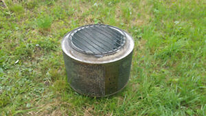 Fire Pit, stainless will last forever will not rust! firepit