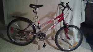 Hi. Adult MT Bike. Female. 18 speed. 24 inch wheels