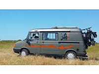 Retro Hippy Sytle Camper Van with Log Burner & Solar. Off Grid. LDV Pilot 2004. Low miles.