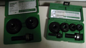 New Greenlee metal stud knock out punches Gatineau Ottawa / Gatineau Area image 1