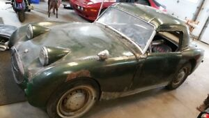 For Sale  1959 Austin Healey Bugeye Sprite