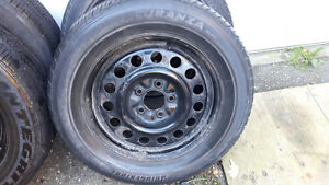Gm Rims and tires 225/60/16 Kitchener / Waterloo Kitchener Area image 6