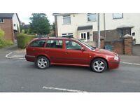 2001 4❌4 skoda octavia elegance turbo petrol mot.d for a year