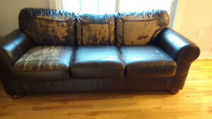 Free couch.  Must pick up.