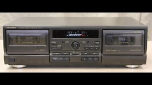 Technics RS-TR373 Stereo Double Cassette Deck -- need repair