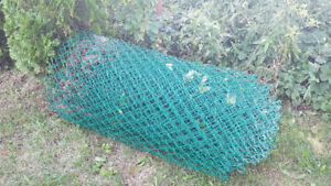 Chain link fence approximately 70 feet