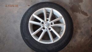Used Winter Tires on Aluminum Rims 225/65R17