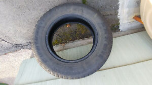 Studded Winter Tires - one season used - 205 70R15
