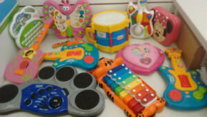 (19) KID'S Musical instruments from 5$