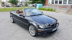 Trop tard vendu BMW 330 CI 2005 CONVERTIBLE MANUEL 6 VITESSES
