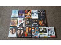Job lot of over 50 DVDs