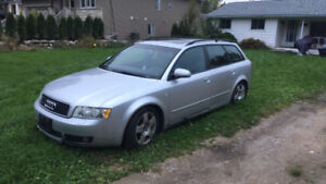 2004 Audi A4 1.8t 6 speed manual