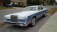 1978 Lincoln town car zero rust Florida car