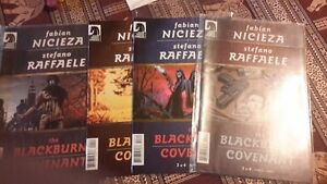 Dark Horse Comic The Blackburne Convenant set 1-4