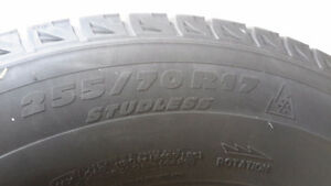 Winter tires & rims- Michelin xi2 on rims and TPM, GMC, CHEVY Kitchener / Waterloo Kitchener Area image 6