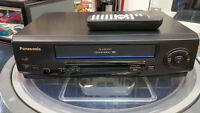 Panasonic OMNI Vision VCR w/ remote