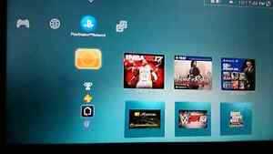 Ps3 and 35 games plus 3 downloaded games