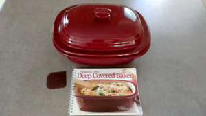 New pampered chef Deep Covered Baker