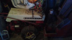 Tracteur sur deux roues