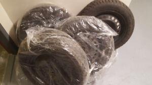 16 inch GoodYearNordic WinterTire & 16 inch rims for sale $549.
