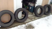 4 All Season Tires Toyo and Zexius (185/65R14)