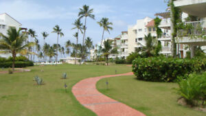 Luxury waterfront Playa Turquesa Punta Cana 2 BR For Rent.