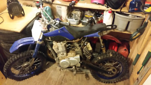 Two dirt bikes 125cc and 49cc $1200 for the pair