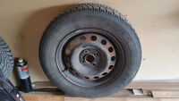 Goodyear Nordic winter tires with rims P185/70R14